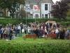 odsłonięcie pomnika w Leven