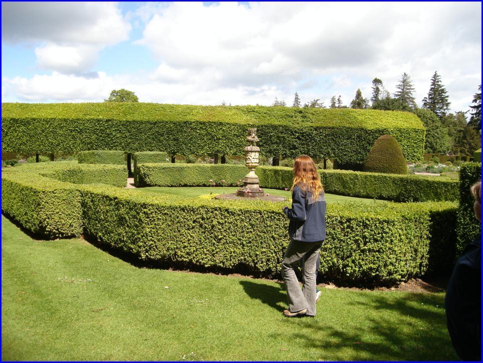 ogrody w Glamis