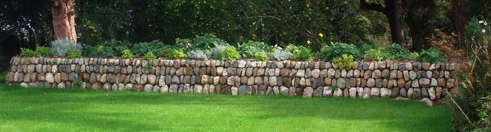 szkocki murek – Dry Stone Wall