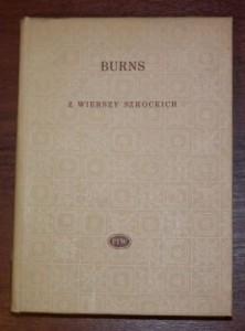 wiersze Robert Burns