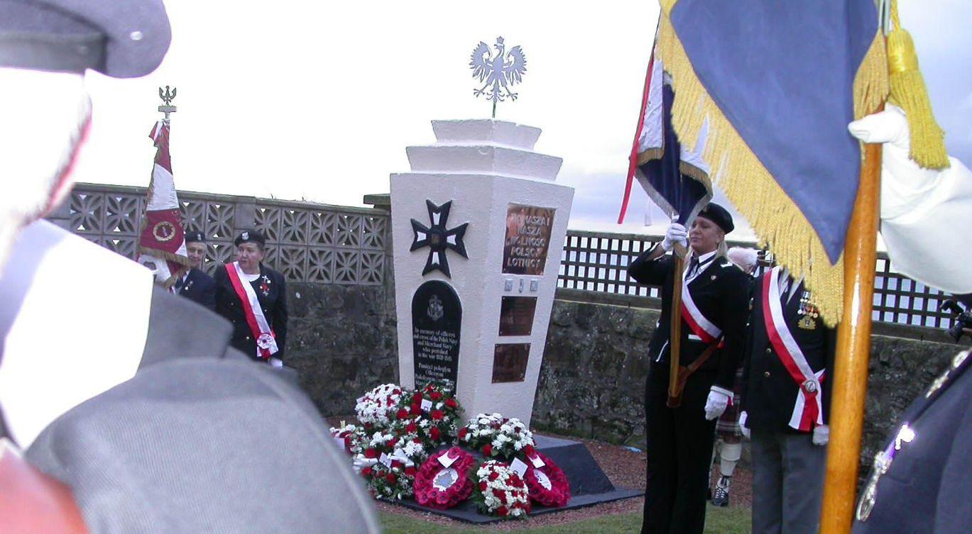 Pomnik Polskiej Marynarki Wojennej w Prestwick