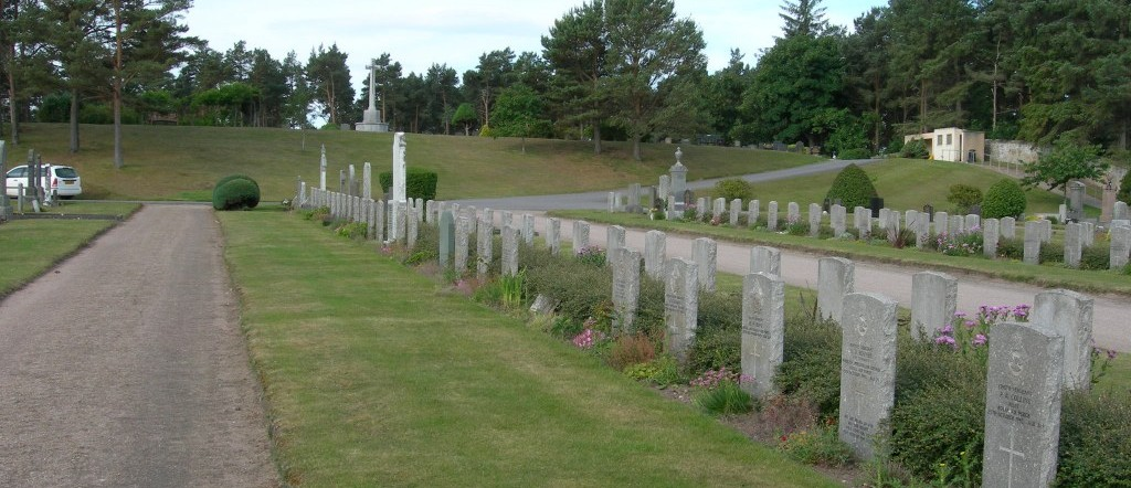 Lossiemouth –  burial ground