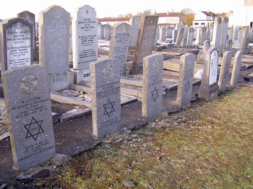 Glasgow – Glenduffhill Jewish Cemetery