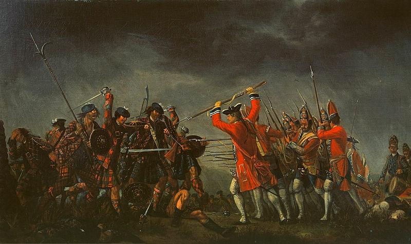 Bitwa pod Culloden według Davida Moriera