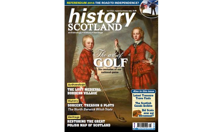 Mapa Scotland w History Scotland
