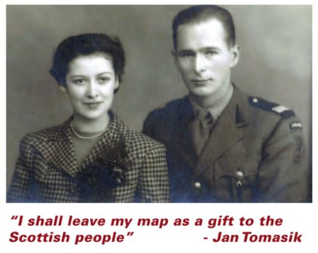 Tomasik mapa scotland