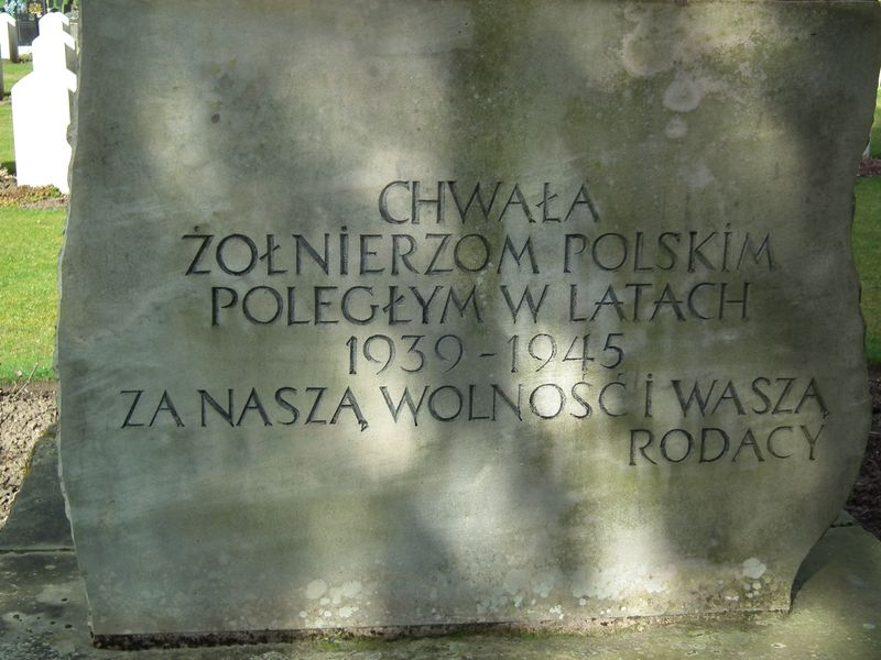 polski cmentarz wojskowy w Perth - Wellshill Cemetery