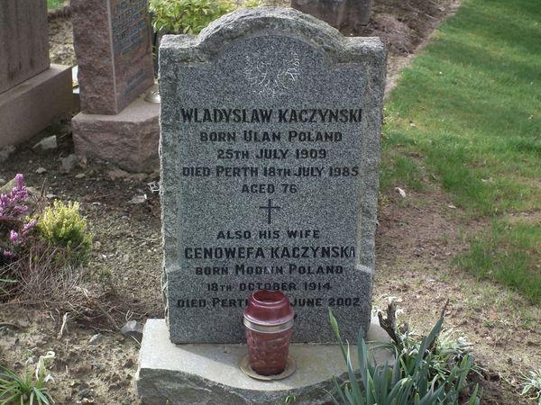 polski cmentarz wojskowy w Perth - Wellshill Cemetery 4