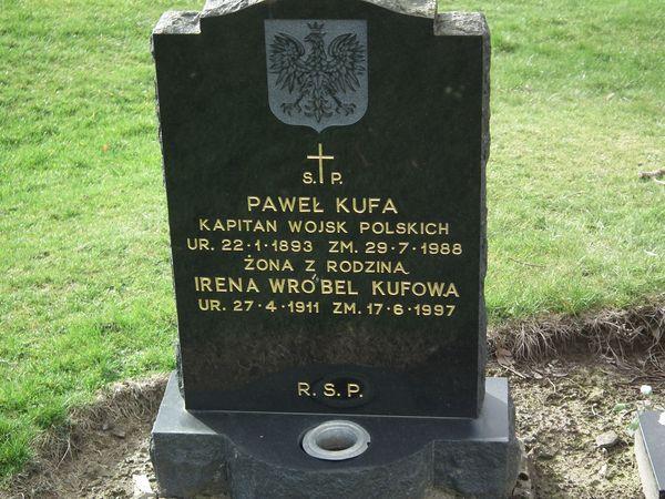 polski cmentarz wojskowy w Perth - Wellshill Cemetery 5