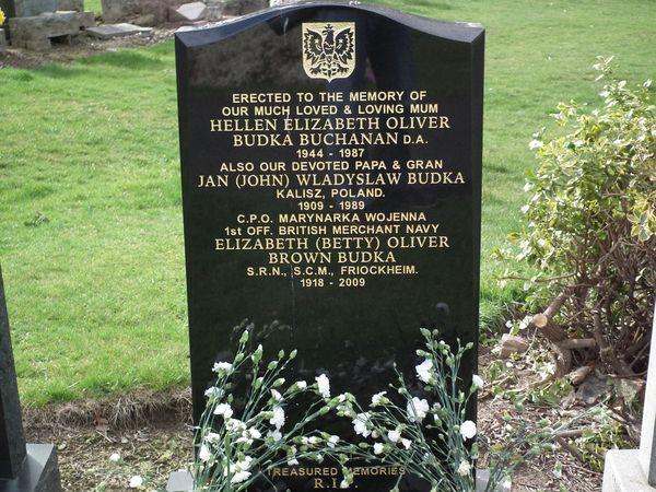 polski cmentarz wojskowy w Perth - Wellshill Cemetery 6