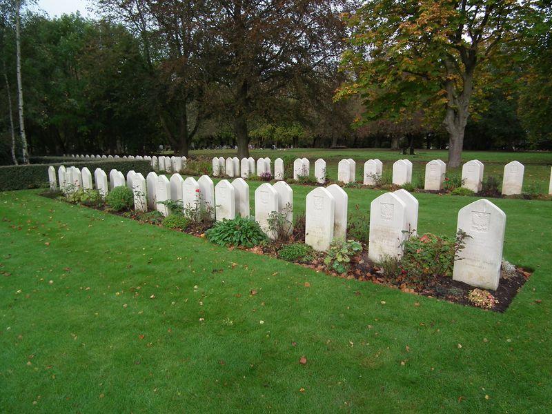 Corstophine Hill - groby polskich żołnierzy