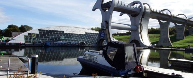 Falkirk Wheel - top