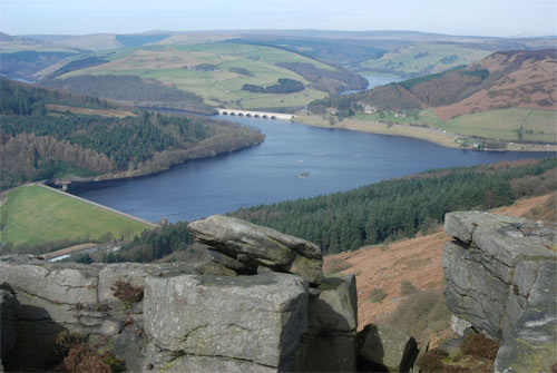 Ladybower Reservoir ,Derbyshire, ENGLAND