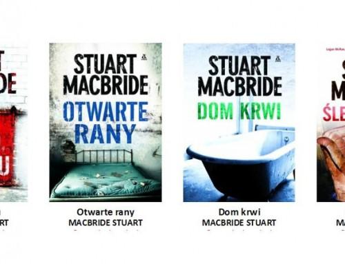 Stuart MacBride – seria książek Logan McRae