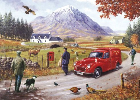 szkocki listonosz - z życia szkockiego glenu