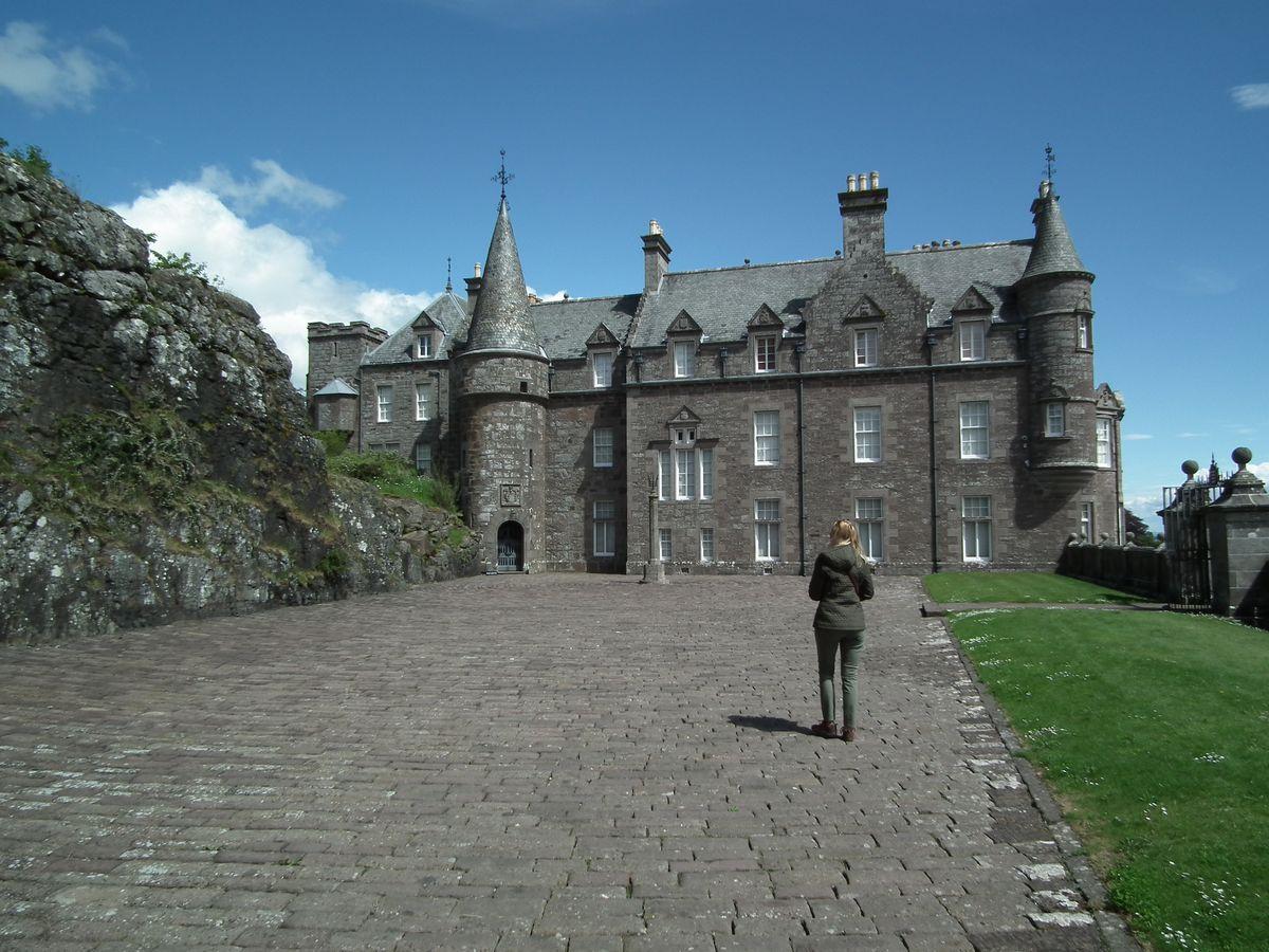 ogrody zamku Drummond