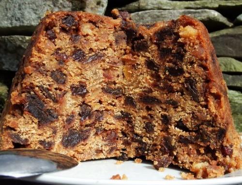 Black bun – przepis na szkockie świąteczne ciasto