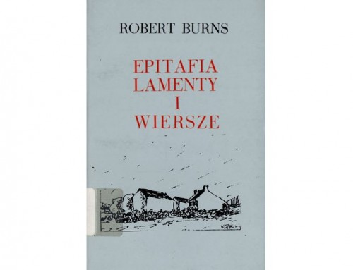 Epitafia Lamenty i Wiersze – Robert Burns