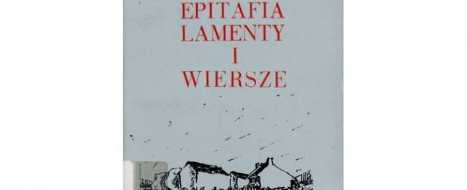 Epitafia Lamenty i Wiersze - Robert Burns