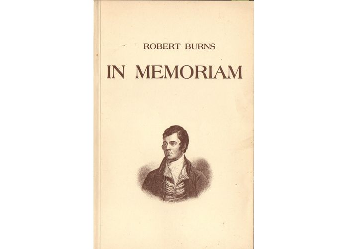In Memoriam Wiersze Roberta Burnsa Mojaszkocjacom