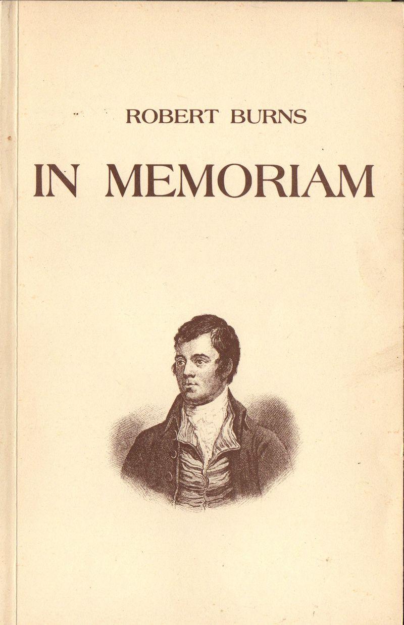 In Memoriam - wiersze Roberta Burnsa