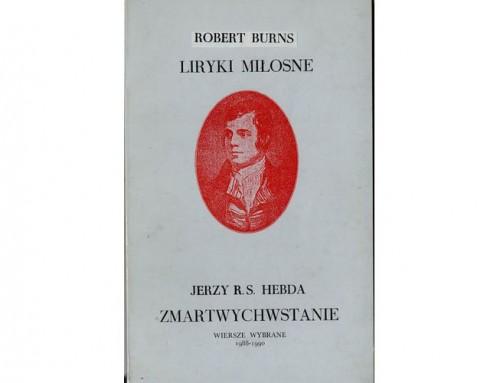 Liryki Miłosne – wiersze Roberta Burnsa