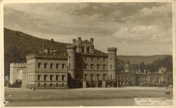 polskie ślady w Szkocji - zamek Menzies